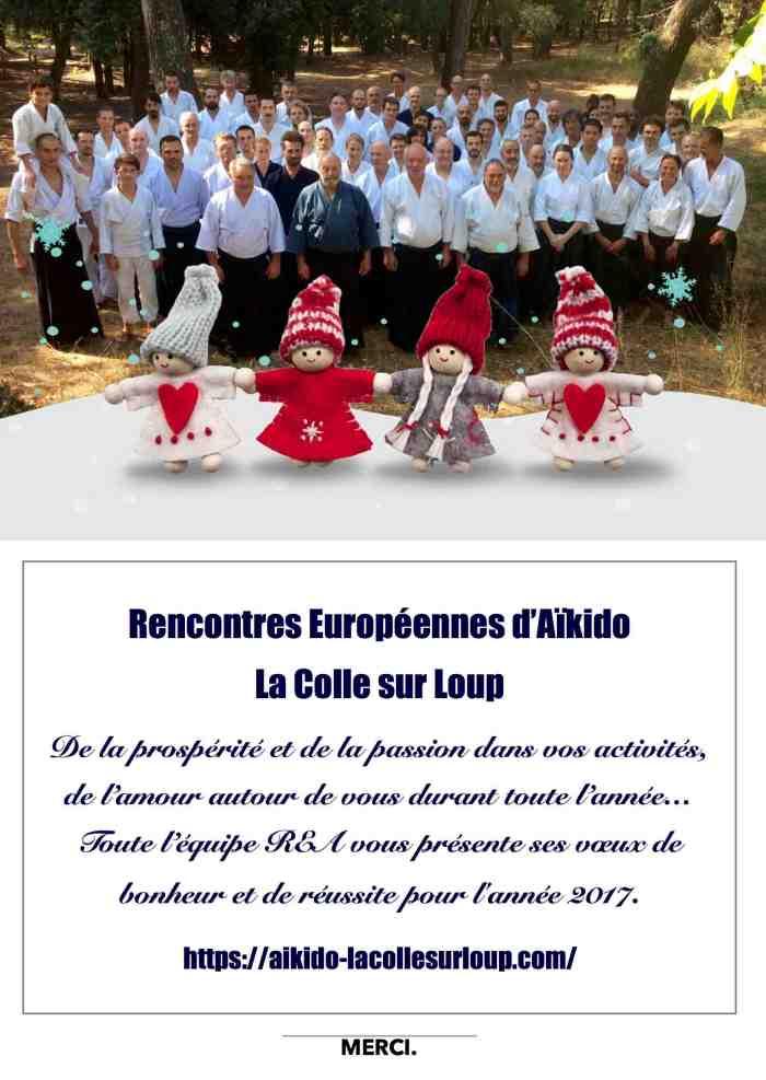 Groupe Aikido Stage - La Colle sur Loup 2016